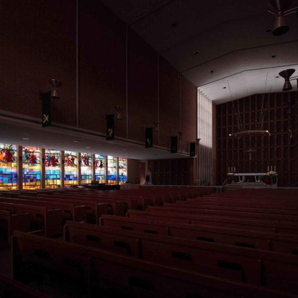 08 vetrate navata